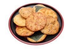 米薄脆饼干 免版税库存照片