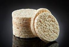 米薄脆饼干 免版税库存图片