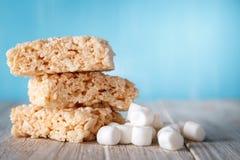 米酥脆款待用蛋白软糖 免版税库存照片