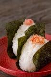 米饭团 图库摄影
