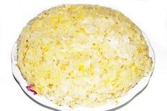 黏米饭 库存图片