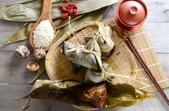 米饺子 库存照片