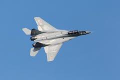 米高扬MiG35战斗机 库存照片