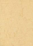 米黄云石纸 库存照片