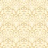米黄墙纸模式 免版税库存图片