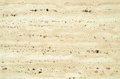 米黄或浅褐色的大理石纹理或摘要背景 免版税图库摄影