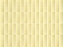 米黄模式重复 库存照片