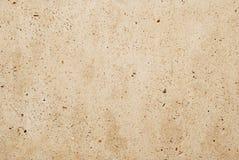 米黄混凝土墙 库存照片