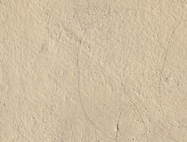 米黄老膏药墙壁 免版税库存图片