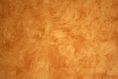 米黄虚假被绘的墙壁 免版税库存图片
