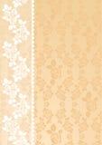 米黄鞋带 向量例证