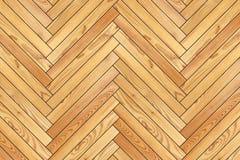 米黄新的木条地板设计 库存照片