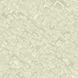 米黄无缝的长方形样式 库存照片