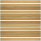 米黄木木条地板设计 免版税库存照片
