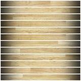 米黄木条地板背景 图库摄影