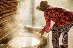 米头的小工厂越南食物的 库存图片