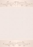 米黄背景 免版税库存图片