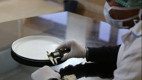 米质量测试 图库摄影