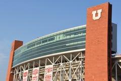 米Eccles体育场在盐湖城,犹他 免版税库存照片