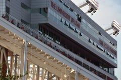 米Eccles体育场在盐湖城,犹他 库存照片
