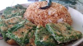 米friedrice食物thailandfood泰国 图库摄影