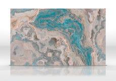 类似玛瑙的条纹大理石瓦片纹理 图库摄影