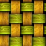 类似篮子的木无缝的样式 库存照片