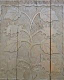 类似花的木装饰品 图库摄影