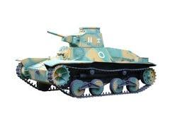 类型95 Ha去轻型坦克日本 免版税库存图片