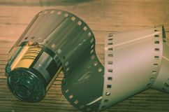 类推摄影35mm影片 库存图片