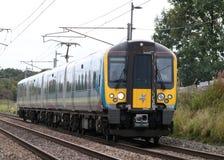 类350西门子Desiro火车西海岸主线 库存图片