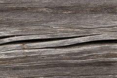 粉碎的木表面 免版税库存照片