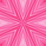 粉红彩笔颜色镶边有角背景  免版税库存图片