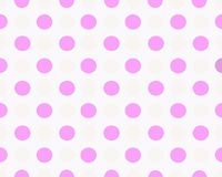 粉红色加点的背景 免版税库存图片