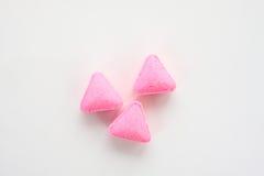 粉红色片剂 图库摄影