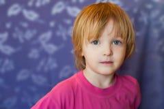 粉红色的女孩 库存照片
