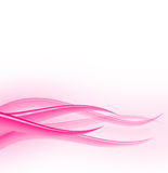 粉红色编织 免版税库存图片