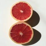 粉红色葡萄柚 免版税库存图片
