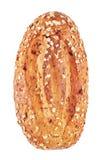 整粒面包用燕麦和坚果 图库摄影