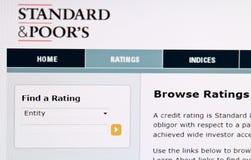 粗劣的评级s标准 免版税图库摄影