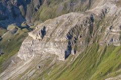粗暴山风景-阿尔卑斯 免版税图库摄影