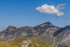 粗暴山风景-阿尔卑斯 免版税库存图片