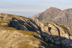 粗暴山风景-阿尔卑斯 库存图片