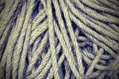 粗暴短绳背景用于做结a 库存图片