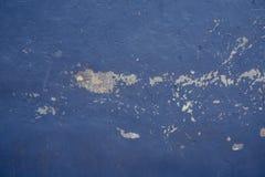 粗砺地中海蓝色的纹理 库存图片