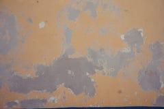 粗砺地中海黄色的纹理 库存照片