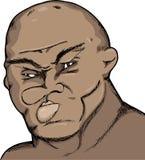粗砺的拳击手 皇族释放例证