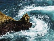 粗砺的海洋 免版税库存图片