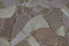粗砺的石头地板 免版税库存图片