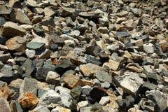 粗砺的石头 库存照片